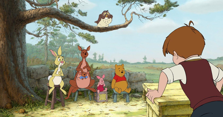 Winnie the Pooh ในเวอร์ชั่นภาพยนตร์